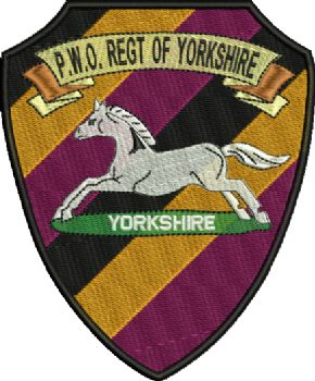 Yorkshire Regiments PWO Embroidered Badge